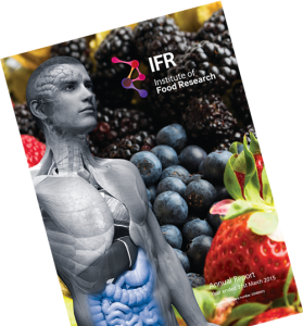 IFR Annual report designed by Norfolk based creative design agency, Mashuni