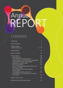 IFR Annual Report contents by Mashuni