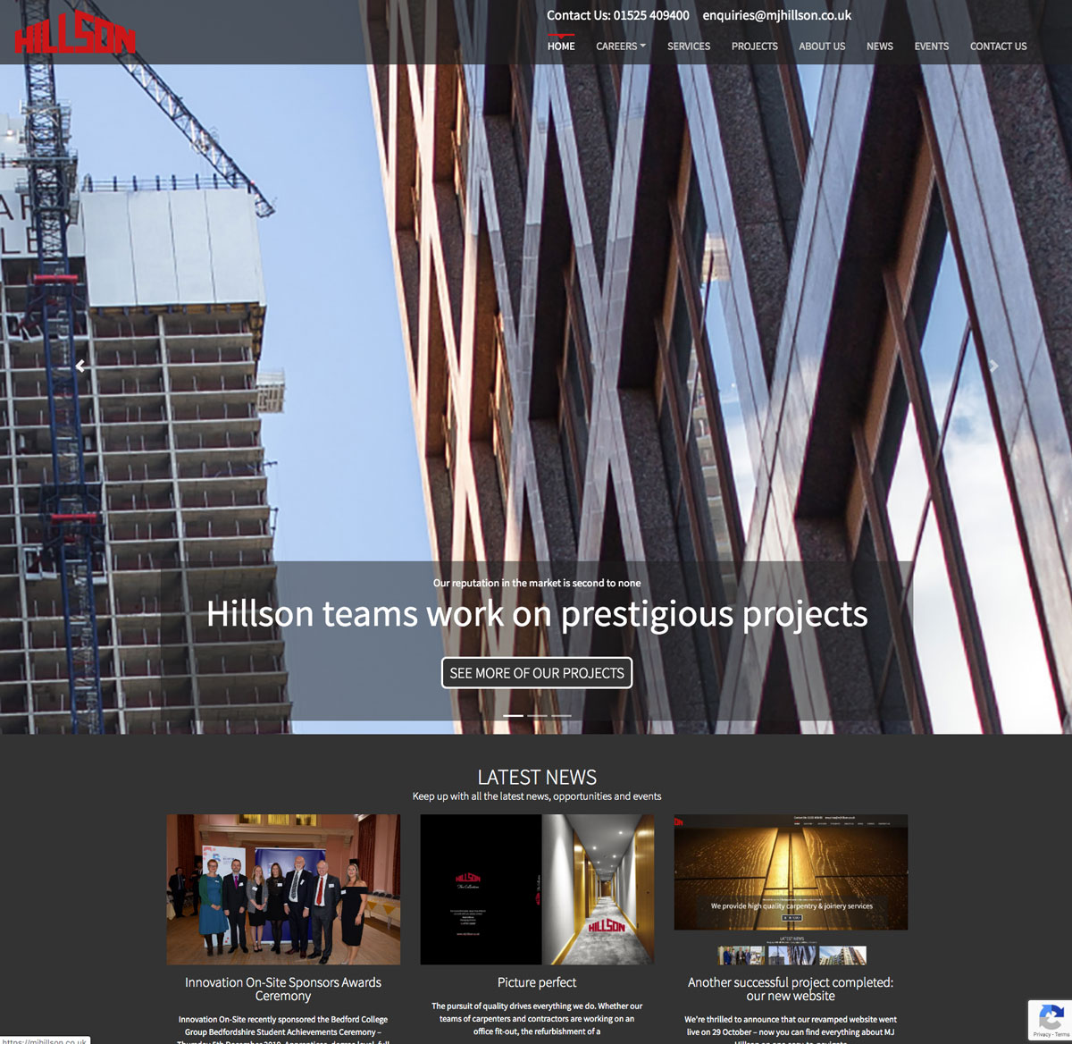 MJ Hillson website