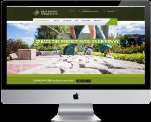 Mashuni designed R and M paving website