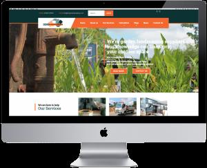 Mashuni designed website for Kings Landscaping